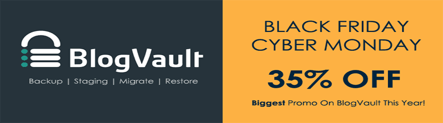 Blog Vault Black Friday 2017
