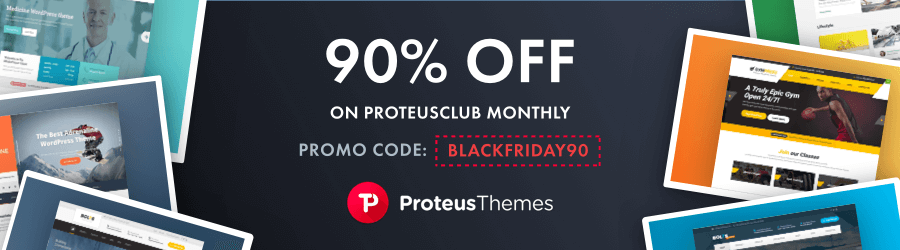 proteus themes black friday