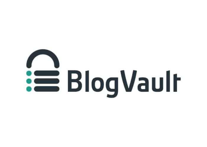 Blogvault logo. links to https://blogvault.net