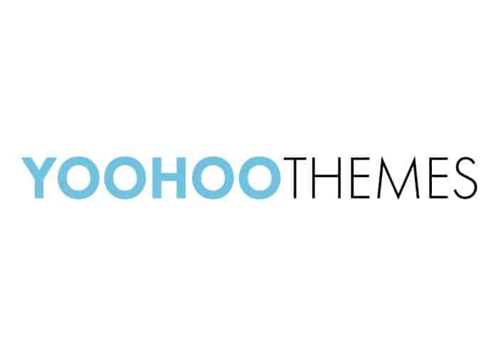 Yoohoo Themes logo, links to https://www.yoohoothemes.com/black-friday-cybermonday-sale/