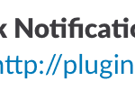 Example of message in Slack from When Last Login