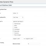 Dynamic Pricing Settings 1
